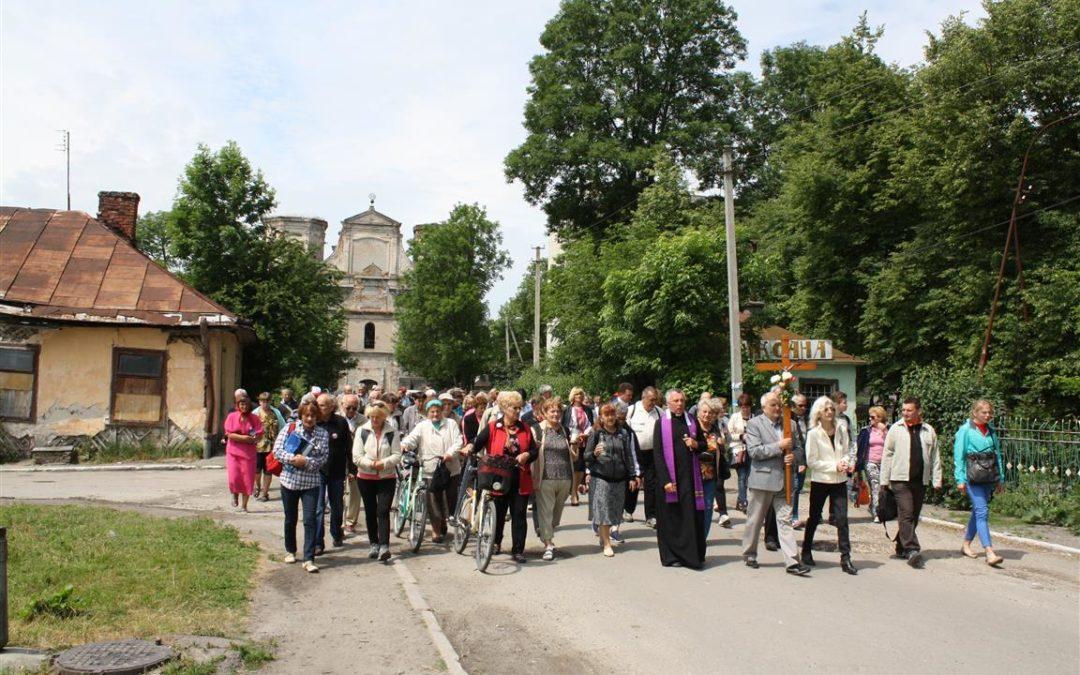 Pielgrzymowali do Uhnowa